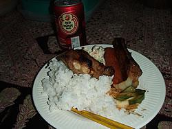 2回目の夕食