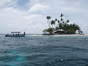 ジープ島到着