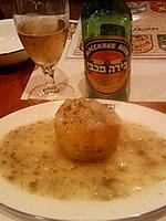 詰め物料理とビール